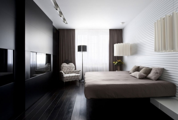 schlafzimmer glamour im eklektischen stil leonhardt innenraum. Black Bedroom Furniture Sets. Home Design Ideas